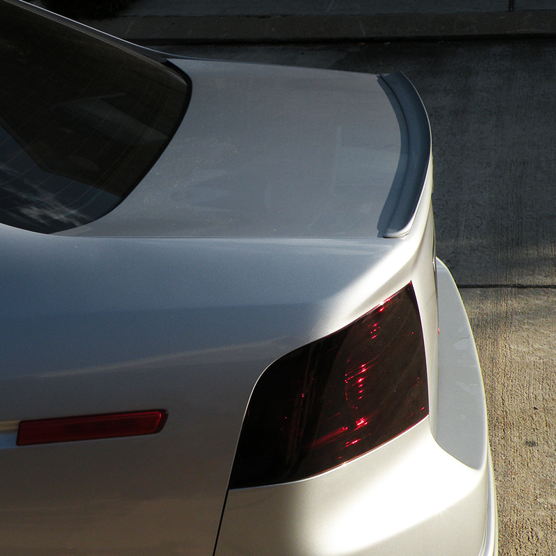 Fyralip Painted Rondo Trunk Lip Spoiler Wing for Mazda 6 GH sedan 08-12