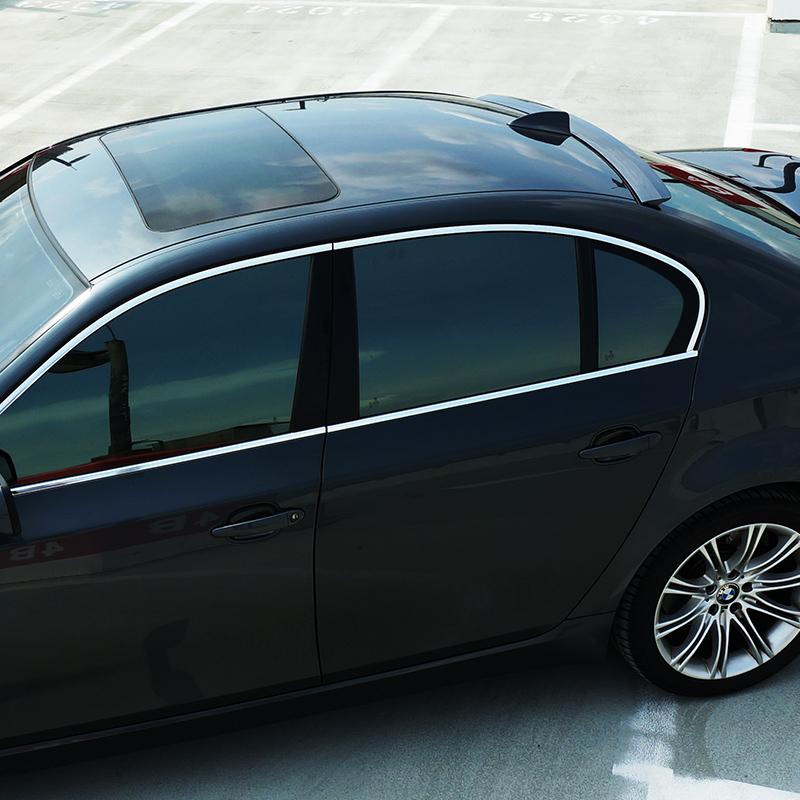 Fyralip Forte Rear Window Roof Spoiler for BMW 5 Series F10 sedan facelift 12