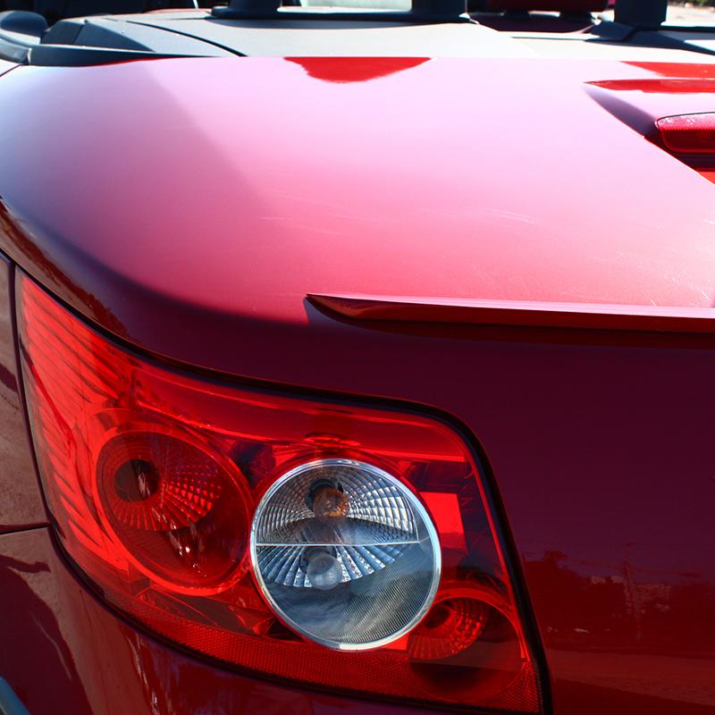 Fyralip T Painted Trunk Lip Spoiler for Skoda Octavia Typ 1Z sedan 09-13