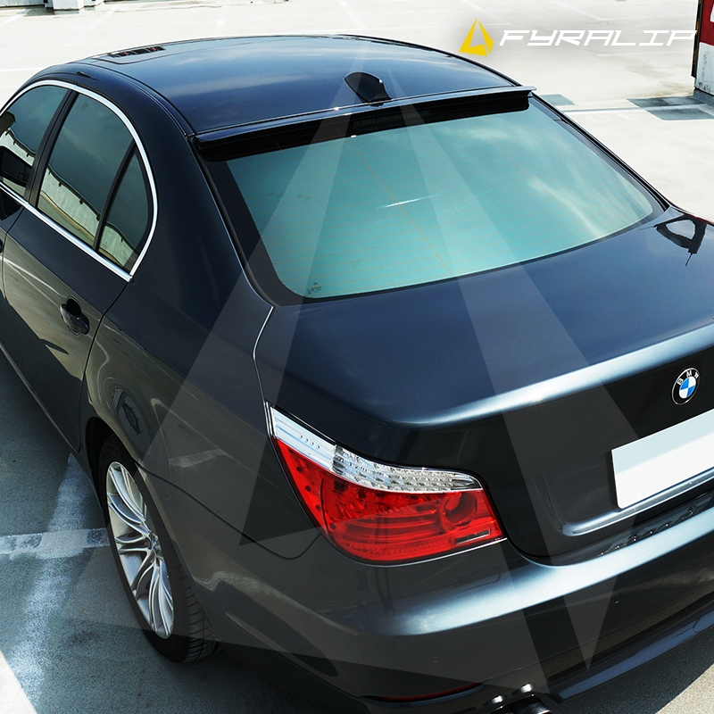 2008 Mazda6 4 Door Oem Style Spoiler: Fyralip Forte Rear Window Roof Spoiler For Mazda 3 BM Sedan 13-
